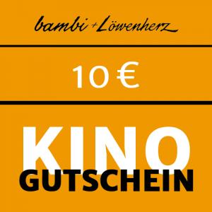 bambi Kinogutschein 10 Euro
