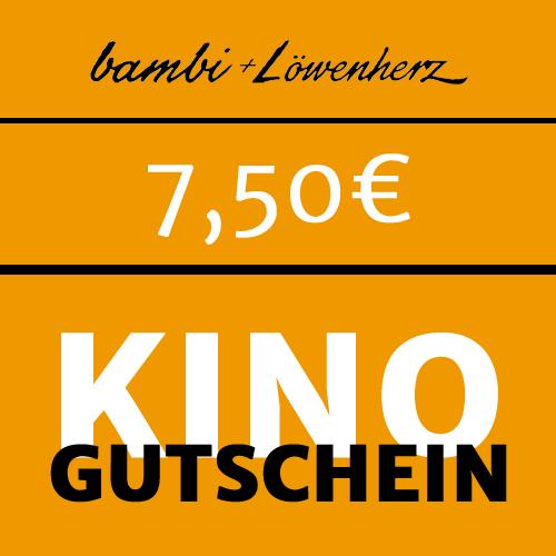 bambi Kinogutschein 7,50 Euro