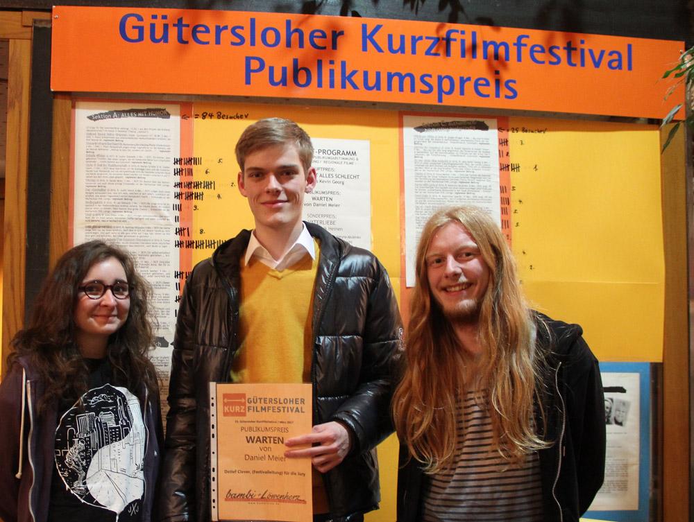 Gewinner Kurzfilmfestival Gütersloh 2017