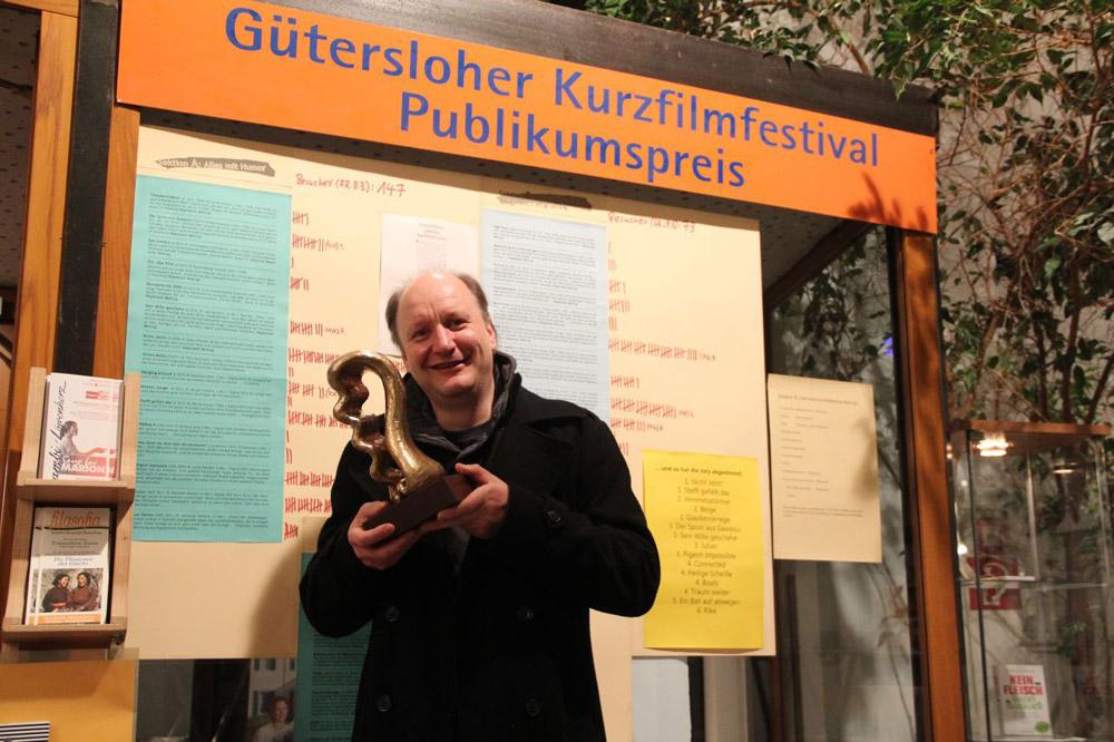 Roland Powik Preisträger Kurzfilmfestival Gütersloh 2017