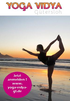 Yoga Vidya Gütersloh, jetzt anmelden