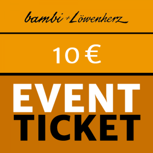 bambi Event-Ticket 10 Euro