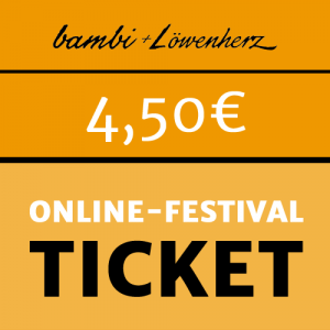 bambi Online-Festival-Ticket 4,50 Euro