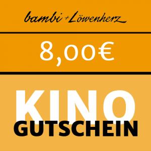 bambi Kinogutschein 8,00 Euro